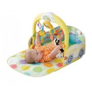 Fisher Price 3 in 1 Convertible Car Gym Multi Color