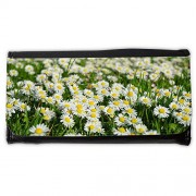 Cartera unisex // M00290751 Daisy Flower Carpet Bianco Prato // Large Size Wallet