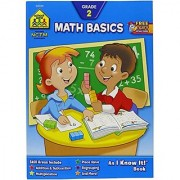School Zone Curriculum Workbooks Math Basics Grade 2