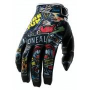 ONeal Jump Glove Crank black/multi S MTB Handschuhe