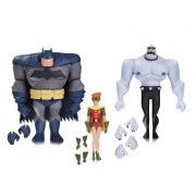 Batman the Animated Series: Batman, Robin, and Mutant Leader Action Figure 3 Pack