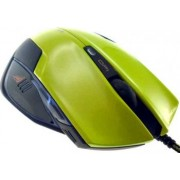 Mouse E-Blue Mazer Type-R Optic 2400DPI Green USB