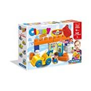 Clemmy Plus Play Set Petrol Station (15 Pieces)