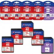 Verbatim 8 GB SD Speicherkarte - Class 10 (SDHC Card)