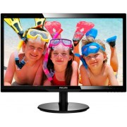 "Monitor LED Philips 24"" 246V5LSB/00, Full HD (1920 x 1080), DVI, 5 ms (Negru)"