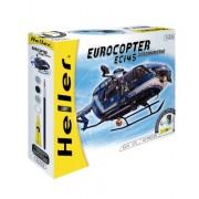 Heller 50378 - Modellino da costruire, Eurocopter EC 145 polizia, scala 1:72 [Importato da Francia]