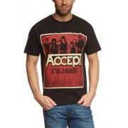 Warner Music Shirts Camiseta con cuello redondo de manga corta unisex, talla 50/52 talla alemana, color Negro
