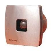 Fürdőszobai elszívó ventilátor d120 alumínium előlappal Schwung