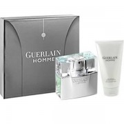 Guerlain Homme Комплект (EDT 80ml + SG 75ml) Travel за Мъже