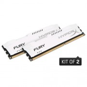 Kingston 8GB DDR3-1866MHz HyperX FURY White, 2x4GB