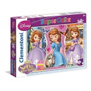 Clementoni 26903 - Sofia The First Learning Royal Manners - Puzzle 60 pezzi
