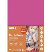 Kreslicí karton APLI A4/180gr/50lis neonová růžová