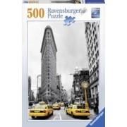 PUZZLE CLADIREA FLATIRON NEW YORK 500 PIESE Ravensburger