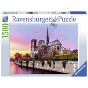 Ravensburger puzzle pictura notre dame, 1500 piese