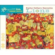 Kathy DeZarn Beynette - Lions: 300 Piece Puzzle