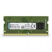 Kingston KVR21S15S8/4 ValueRAM Memoria DDR4 per Notebook da 4 GB, 2133 MHz, Non-ECC CL15 SODIMM 1Rx8, Verde/Nero