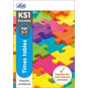 Times Tables Ages 5-7 Practice Workbook by Letts KS1