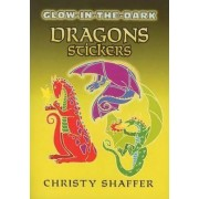 Glow-in-the-Dark Dragons Stickers by Christy Shaffer