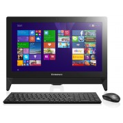 "Lenovo IdeaCentre AIO C20-00 Intel N3050/19.5"" Touch/4GB/500GB/IntelHD/USB KBMouse/Win 10/Black"
