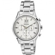 Seiko Silver Stainless Steel Round Dial Quartz Watch For Men (Spc079P1)
