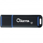 Memorie USB Akyta Kyoto Line 32GB USB 2.0 Black Blue
