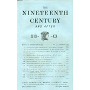 The Nineteenth Century And After Xix-Xx, N° 313, March 1903 (Summary: The Agitation Against England S Power. By Professor A. Vambéry. The Success Of American Manufacturers. By John Foster ...