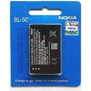 1020 mAh BL-5C Original Battery For Nokia 1100 1101 1110 1110i 1112 1200 1208 1209 1600 1650 1255 1108 1680C 1315 2300 2