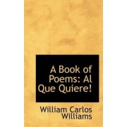 A Book of Poems by William Carlos Williams