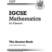 Edexcel Certificate/International GCSE Maths Answers for Workbook with Online Edition (A*-G) by CGP Books