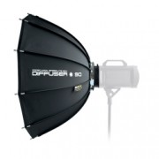 SMDV Speedbox-90B - Softbox dodecagon montura Bowens, 90cm