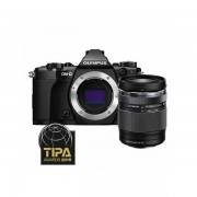 Aparat foto Mirrorless Olympus OM-D E-M5 Mark II 16 Mpx Black Kit 14-150mm