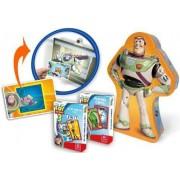 Cartamundi - 107534907 - Jeu De Cartes - Coffret Jeu De Cartes - Toy Story 3 - Jeu De Famille 2 En 1 Jeu De 54 Cartes Carte 3d Buzz L'clair