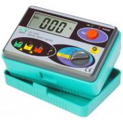 HOLDPEAK 4100 Digitális földelési ellenállás mérő 0-2000ohm 0-30V mérési feszültség földelőrúd.