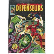 """ Les Défenseurs "" ( The Defenders : Dr. Strange / Valkyrie / Nighthawk / Hulk / Hellcat ) : Les Défenseurs N° 1 ( 1er Trimestre 1981 )"