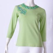Ručne maľované tričko (42) Alfatex