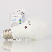 Lâmpada LED E27 9w»60W Luz Natural 806Lm A60 CREPUSCULAR