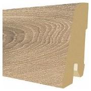 Plinta MDF Egger 60x17 mm, 2,4 m, culoare Stejar Parchet inchis
