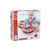 Hape E3140 Gâteau D'anniversaire Fraise-Chocolat