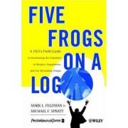 Five Frogs on a Log by Mark L. Feldman
