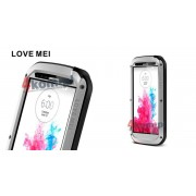 Pancerne etui LOVE MEI do LG G3 - Srebrny