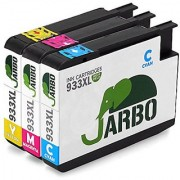 JARBO Replacement For HP 933XL Ink Cartridges High Yield 3 Colors (1 Cyan 1 Magenta 1 Yellow) Compatible With HP Officejet 6700 Premium 6600 6100 7110 7610 7612 Printer