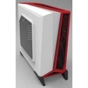 Carcasa Carbide Series Spec-Alpha, Middle Tower, alb/ rosu, fara sursa