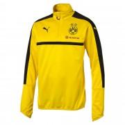 プーマ BVB 1/4 トレーニングトップ メンズ cyber yellow-black