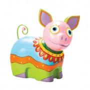 Porquinho Colorido 20cm Lyor Design