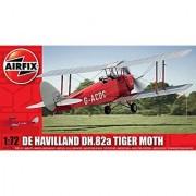 Airfix A01024 De Havilland DH.82a Tiger Moth Model Kit (1:72 Scale)