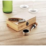 Boros készlet bambusz dobozban