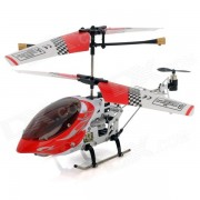 SH-6020 rechargeable 3-CH IR Remote Control R / C Helicopter w / Gyro - Rouge