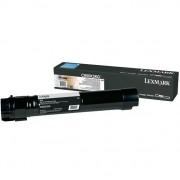 CARTUS TONER BLACK C950X2KG 38000pg ORIGINAL LEXMARK C950DE