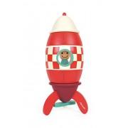 Janod - Kit súper cohete magnético de madera (Juratoys J05214)