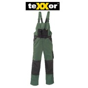 teXXor Canvas 320 2-in-1 Work Trousers with Cordura Reinforced, Green, 20-008335-29